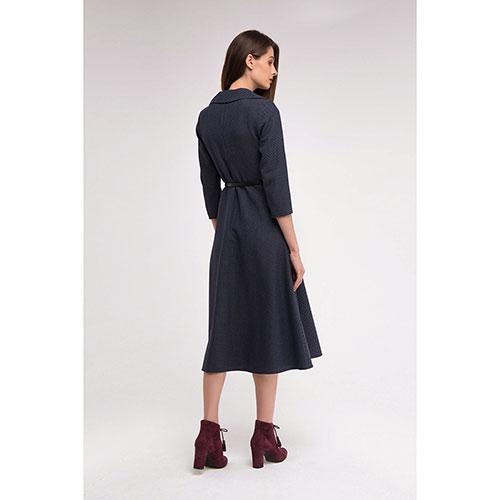 Платье Shako из шерсти в мелкую клетку, фото