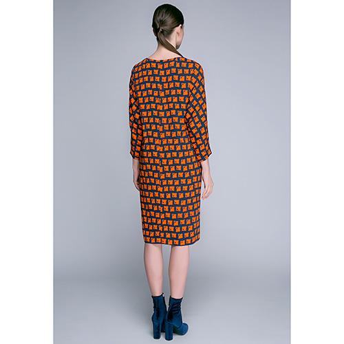 Платье свободного кроя Shako с длинным рукавом, фото