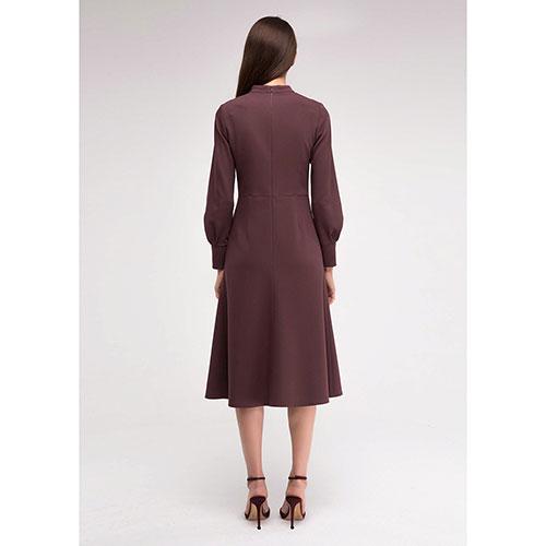 Платье Shako цвета бургунди полуприлегающее, фото