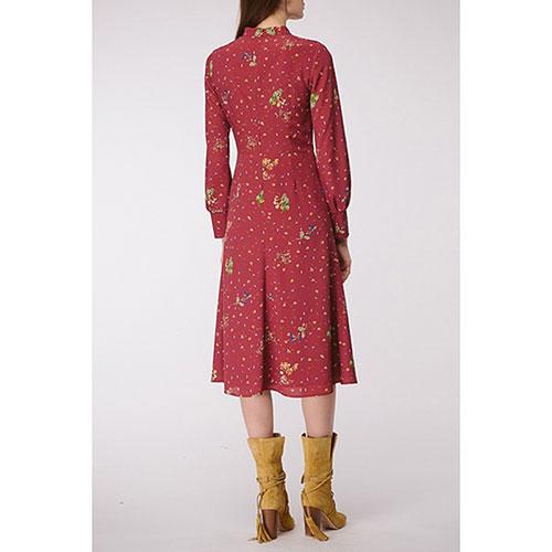 Платье с длинным рукавом Shako с цветочным принтом, фото