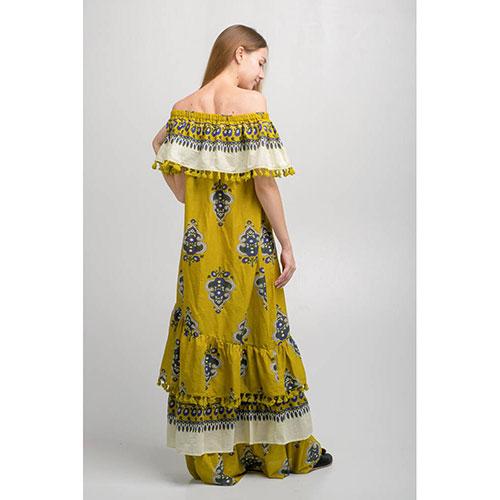 Длинное платье Emma&Gaia с открытыми плечами, фото