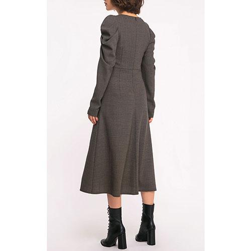 Повседневное платье Shako с рукавами-буфами, фото