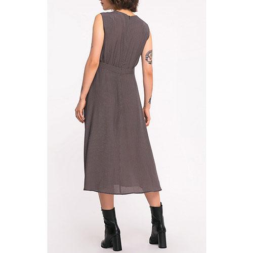 Коричневое платье Shako без рукавов, фото