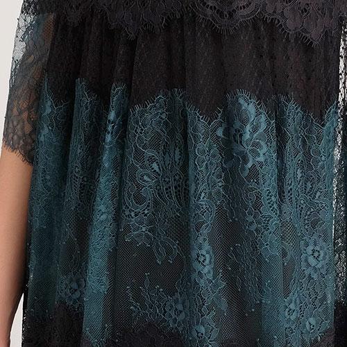 Коктейльное платье Twin-Set с кружевом, фото
