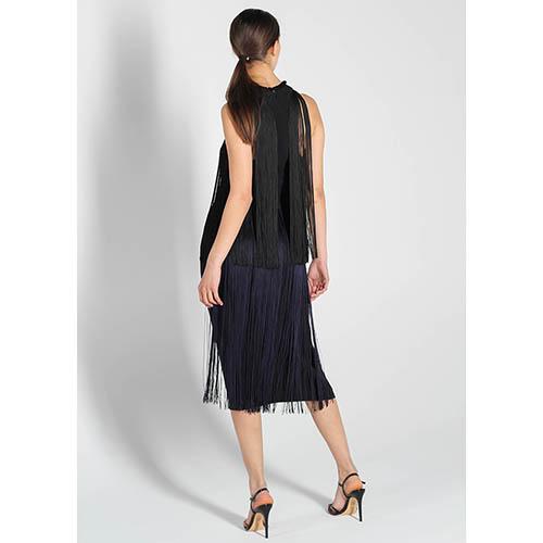 Платье Stella McCartney с длинной бахромой, фото