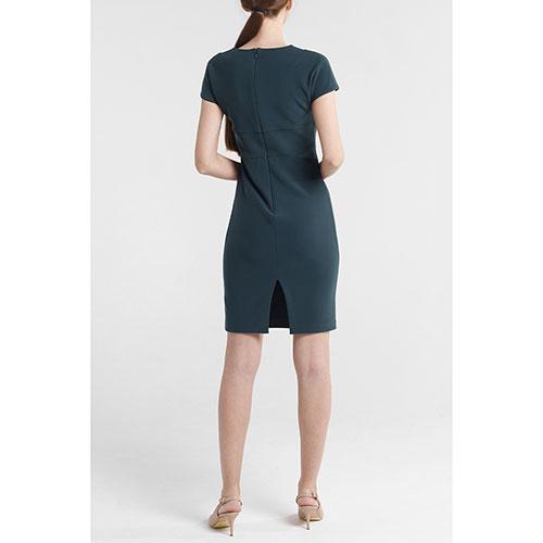 Повседневное платье Marciano зеленого цвета до колен, фото