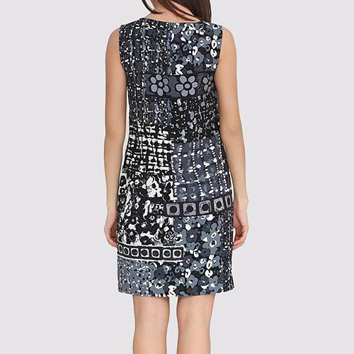 Платье Boutique Moschino с ассиметричной расцветкой, фото