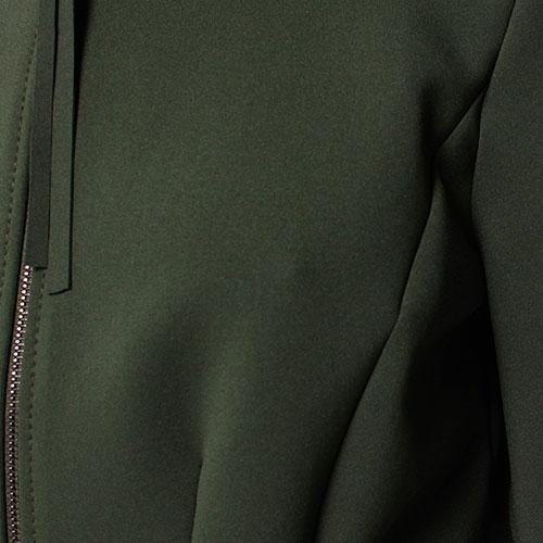 Платье Dorothee Schumacher зеленое на молнии спереди, фото