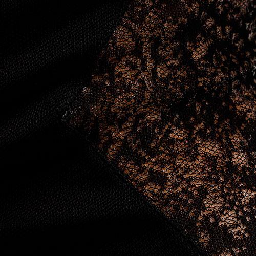 Rружевное платье Balmain с длинным рукавом, фото