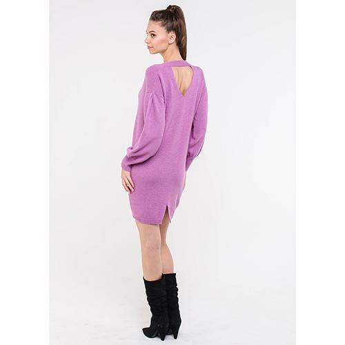Розовое платье Blugirl до колен, фото