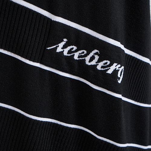Трикотажное платье Iceberg с асимметричным кроем, фото