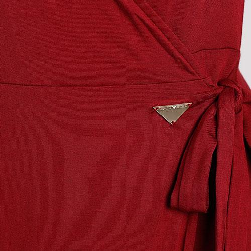 Платье-миди Emporio Armani на запах, фото