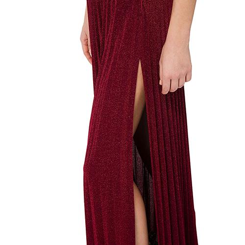 Длинное платье Elisabetta Franchi с пайетками, фото