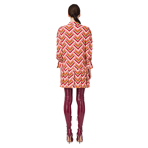 Платье-рубашка Elisabetta Franchi с принтом, фото