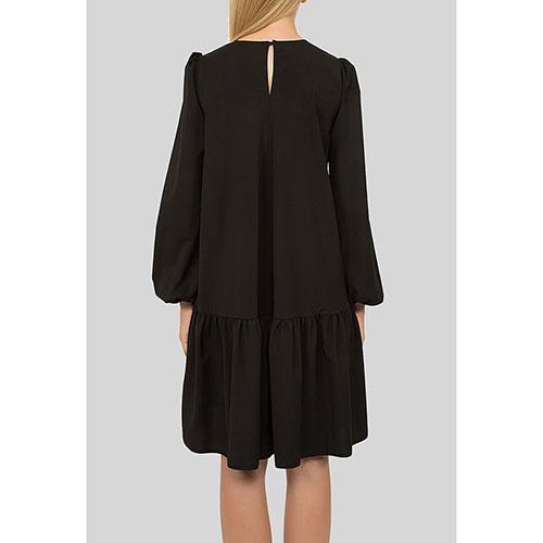 Ассиметричное платье N21 с пышной юбкой, фото