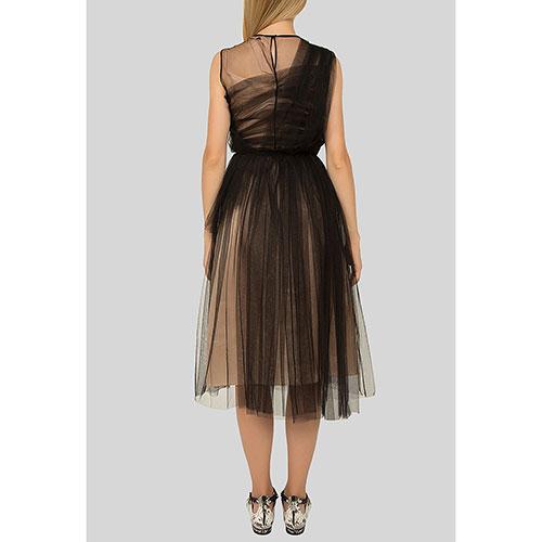 Платье-миди N21 с пышной юбкой, фото