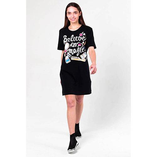 Платье-футболка Love Moschino с принтом, фото