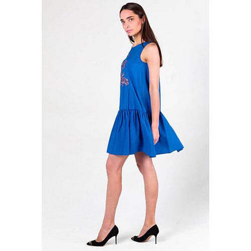 1dc0e47b666 ☆ Синее платье Love Moschino оверсайз купить в Киеве