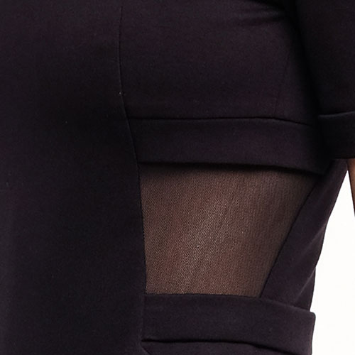Обтягивающее платье Philipp Plein с коротким рукавом, фото