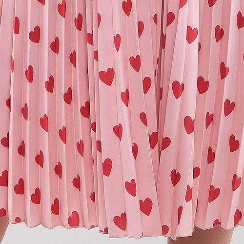 Платье Red Valentino с аппликацией из фактурного бархата, фото