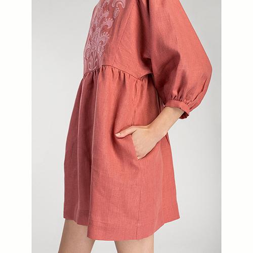 Платье Etnodim Sun Light с пуговицами на спине, фото