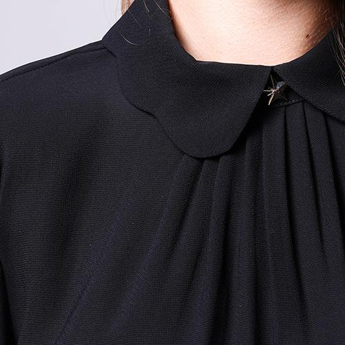 Платье Elisabetta Franchi с пышной юбкой под пояс, фото