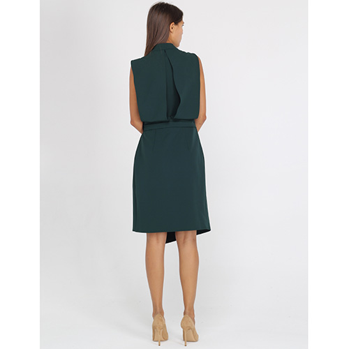 Платье с запахом Blumarine без рукава, фото