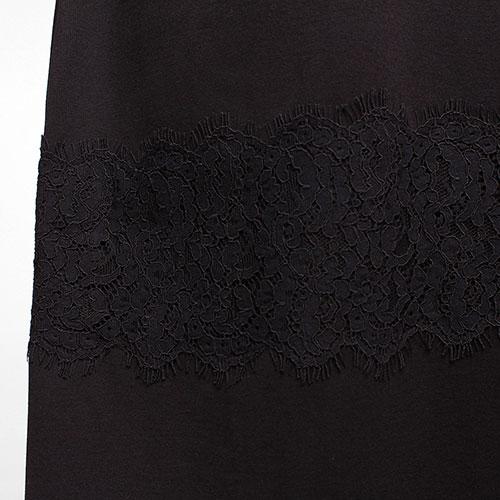 Платье до колен Twin-Set с кружевными вставками, фото