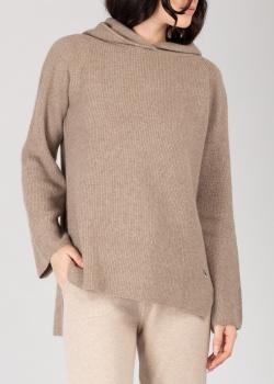 Кашемировое худи GD Cashmere коричневого цвета, фото