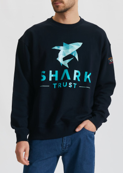 Синий свитшот Paul&Shark с акулой, фото