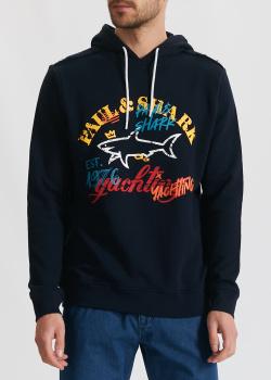 Худи Paul&Shark с принтом, фото