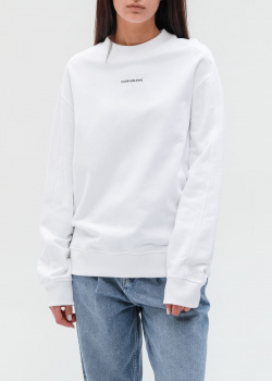 Белый свитшот Calvin Klein с логотипом, фото