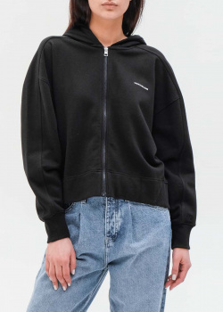 Черная толстовка Calvin Klein на молнии, фото