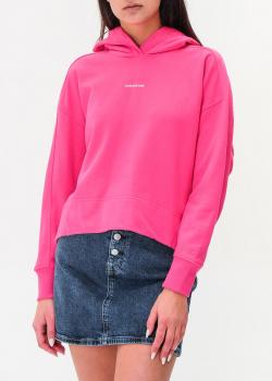 Розовое худи Calvin Klein с капюшоном, фото
