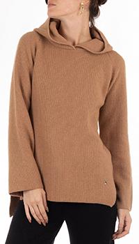 Кашемировое худи GD Cashmere с разрезами по бокам, фото