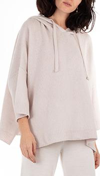 Кашемировое худи GD Cashmere с широкими рукавами, фото
