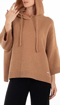 Кашемировое худи GD Cashmere с рукавом три четверти, фото