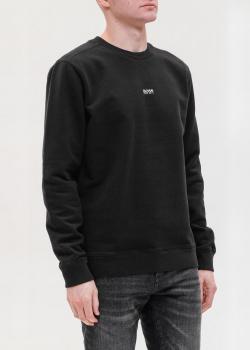 Мужской свитшот Hugo Boss черного цвета, фото