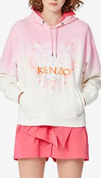 Градиентная толстовка Kenzo с карманами, фото