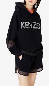 Женская толстовка Kenzo черного цвета, фото