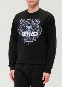 Черный свитшот Kenzo с тигром, фото