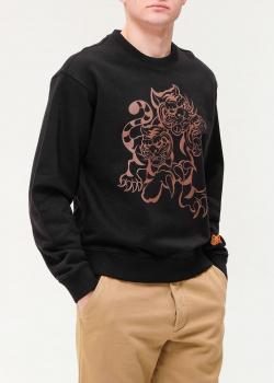 Мужской свитшот Kenzo с тиграми, фото