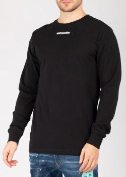 Свитшот Off-White черного цвета с принтом, фото