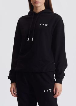 Худи Off-White черного цвета, фото