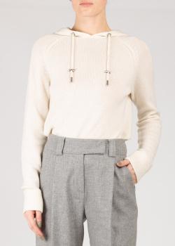 Шерстяное худи Max&Moi с капюшоном, фото
