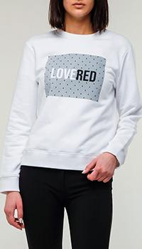 Свитшот Red Valentino с надписью, фото