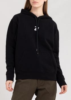 Худи черного цвета Zadig & Voltaire с логотипом, фото