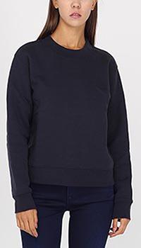 Черный свитшот Armani Jeans с цветком на спине, фото