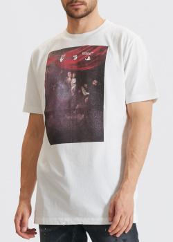 Футболка Off-White с рисунком Caravaggio, фото