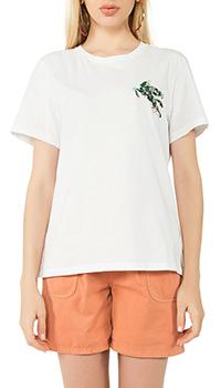 Белая футболка Etro с принтом, фото